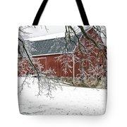Holly Barn Tote Bag