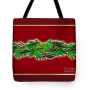 Holly Garland Tote Bag