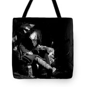 Holly In Chair 1980 Tote Bag
