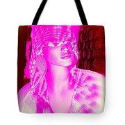 Holly In Hood Tote Bag