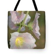 Hollyhock Named Indian Spring Pink Tote Bag