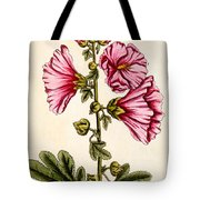 Hollyhocks Tote Bag