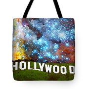 Hollywood 2 - Home Of The Stars By Sharon Cummings Tote Bag