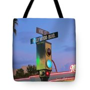 Hollywood And Vine Tote Bag