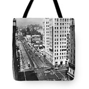 Hollywood And Vine In La Tote Bag