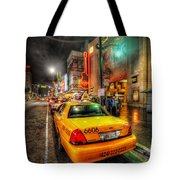 Hollywood Boulevard Tote Bag