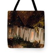 Hollywood Holidays Tote Bag