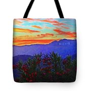 Hollywood Sunset Tote Bag