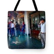 Hollywood Super Heros Tote Bag