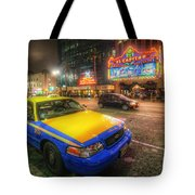Hollywood Taxi Tote Bag