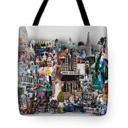 Hollywood Tourist Tote Bag