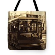Hollywood Trolley Tote Bag