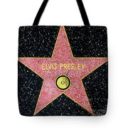 Hollywood Walk Of Fame Elvis Presley 5d28923 Tote Bag