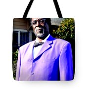 Hollywood Wearing His Dress Suit And Bow Tie Color Photo Usa Tote Bag