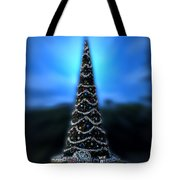 Hollywood Xmas Tree Walt Disney World Tote Bag