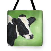 Holstein Cow Tote Bag