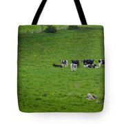 Holsteins Tote Bag by Bill Wakeley