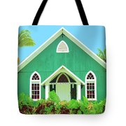 Holuoloa Church Tote Bag