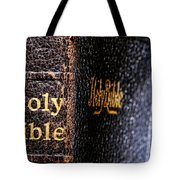 Holy Bible Tote Bag