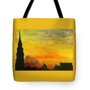 Holy City Sunset Tote Bag