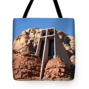 Holy Cross Church Tote Bag