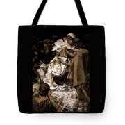Holy Family Nativity - Color Monochrome Tote Bag