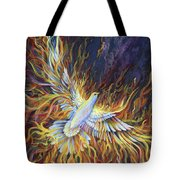 Holy Fire Tote Bag