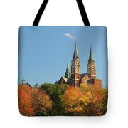 Holy Hill In Living Color Tote Bag
