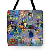 Holy Letters 1x Tote Bag