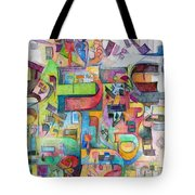Holy Letters 3 Tote Bag