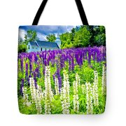 Holy Lupines Tote Bag