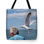 Holy Mackerel Tote Bag