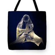 Holy Mother And Child Abstract II Tote Bag