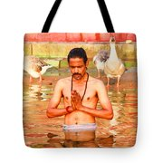 Holy River Tote Bag