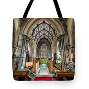 Holy Trinity Tote Bag by Adrian Evans