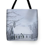 Holy Trinity Anglican Church And Tote Bag
