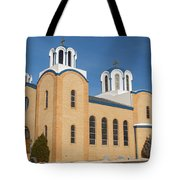 Holy Trinity Orthodox Christian Church Tote Bag