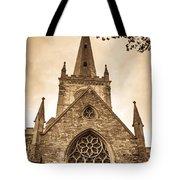 Holy Trinity Stratford On Avon Sepia Tote Bag