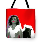 Homage Hedy Lamarr Nude Extasy 1932 Screen Capture Collage 1932-2012 Tote Bag