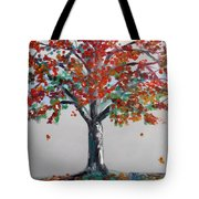 Homage To Autumn Tote Bag