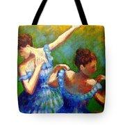 Homage To Degas Tote Bag