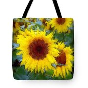 Homage To Vincent Tote Bag