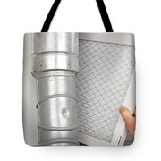 Home Air Filter Replacement Tote Bag