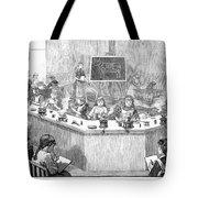 Home Economics Class, 1886 Tote Bag
