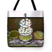 Home For The Holidays - Use Red-cyan 3d Glasses Tote Bag
