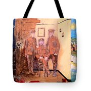 Home Front Room Tote Bag