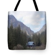 Home In The Mountains Tote Bag