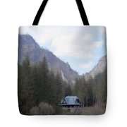 Home In The Mountains Tote Bag by Jeff Kolker