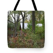 Home In The Woods Tote Bag