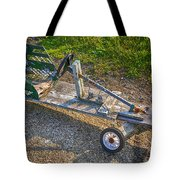 Home Made Go Kart Tote Bag
